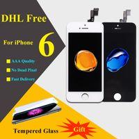 IPhone 6 numériseur 10 pcs No Dead Pixel Grade AAA Écran tactile à cristaux liquides de 4,7 pouces avec pièces de rechange d'assemblage de numérisation 10 PCS / LOT