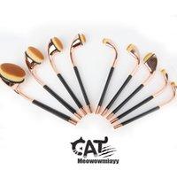 Pipe Makeup brush set 2017 new women cosmetics tools profess...