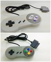 2016 Nouveau 10 touches Nes 16 Bit Controller pour Super pour Nintendo Snes System Console Control Pad Support Europe et la version américaine
