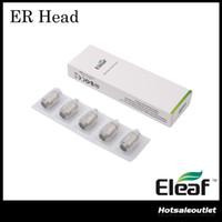 Authentique Eleaf ER Tête 0.3ohm pour Melo RT 22 Atomiseur de réservoir Single Stainless Steel 316 Coil