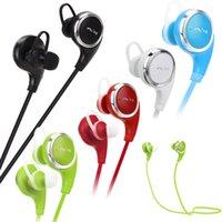 Stocks américains! QY8 sans fil Bluetooth4.1 casque Mini Sport stéréo écouteur 10m Handfree casque pour téléphone iPhone Samsung Livraison gratuite