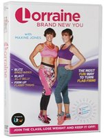 2017 DVD de séance d'entraînement de la plus récente Lorraine Kelly tout neuf vous groupe d'entraînement de gym de l'exercice DVD Payant facile DHL libre