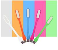 USB LED Lampe LED Light Portable Flexible Bendable Xiaomi USB Light pour ordinateur portable Tablette portable Power Bank USB Gadets L301 Livraison gratuite