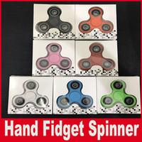 Творческий Funny Tri-Spinner Fidget Toy Plastic EDC Hand Spinner Для Аутизма и СДВГ Время вращения Длинные Игрушки Напряжения Шума 9 цветов