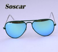 Soscar Fashion Velvet Frame Sunglasses for Women Pilot Brand...
