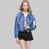 Brand Quality Denim Jacket Female 2017 Spring New Women&#039...