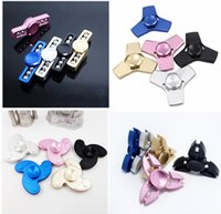 Hand Spinners Mix 4 desings 5 colors Fidget Spinners Aluminu...