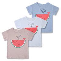 Boys T- shirt 2017 Children' s T shirt summer short sleev...
