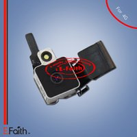 Noir nouveau caméra arrière module d'objectif remplacement de la couverture d'anneau pour iPhone 4 4G Livraison gratuite