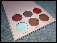 Maquillage Visage Nicole Poudre Surligneurs 6 Couleurs Poudre Palette Marque Cosmestics Livraison gratuite