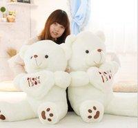 Beige Giant Big Plush Teddy Bear Soft Gift for Valentine Day...