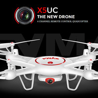 Nouveau drone RC SYMA X5UC RC Quadcopter drone avec 2MP HD caméra 2.4G 4CH 6Axis hélicoptère hauteur tenir une clé