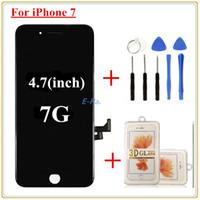1pcs Pour l'écran d'origine de l'iPhone 7 LCD Qualité AAA Lcd Affichage Digitizer Full Assembly Avec Good 3D touch + Outils ouverts + film protecteur 3D