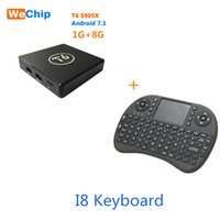 T6 S905X Android 7. 1 TV Box Quad Core ARM Cortex A53 @2GHz 1...