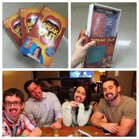 Speak Out Game Party Cards Challenge Game Watch Your Mouth F...