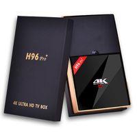 """ Original H96 PRO Plus + android 6. 0 internet tv box A..."