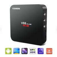 V88 Plus Android 5. 1 TV Box 4K RK3229 Quad Core 2GB RAM 8GB ...
