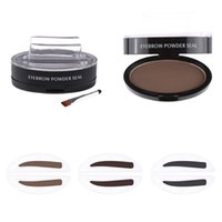 1 Set Pro Delicated Natural Straight United Eyebrow Shadow E...