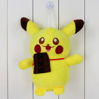 22cm Anime Poke Pikachu Plush Toys Soft Stuffed Plush Doll F...