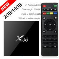 2017 X96 2G 16G S905X TV BOX 4K Android6. 0 Amlogic S905X Qua...