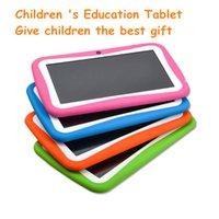 1024 * 600 HD 7 pouces quad-core enfants Tablet PC 512MB 8GB Android 5.1 Children's Education Application Festival le meilleur cadeau
