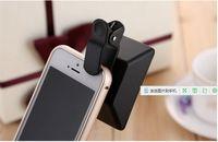 Objectif 3D externe Effets 3D Format d'objectif Format de gauche et de droite Déclencheur à prise de vue grand angle tridimensionnel pour téléphone mobile avec emballage