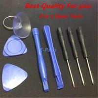 Outils d'ouverture 8 en 1 tournevis Kit de réparation Set pour iPhone Pour iPod Touch Pour téléphone Samsung avec DHL Fast Livraison gratuite