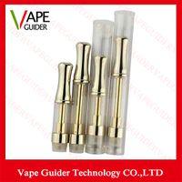 Gold aporizer pen cartridges galss tube ceramic wickless car...