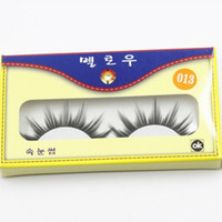 Popular Messy Natural False Eyelashes 1- 1. 5cm Hand Made Synt...