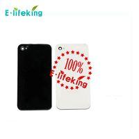 Retour Boîtier de Batterie Coque arrière Pièce de rechange avec Flash Diffuseur pour iPhone 4 4 CDMA 4S Noir Blanc avec Navire Gratuit