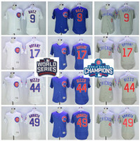 2016 World Series Champions Chicago Cubs Jersey Baseball Pos...