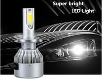 1 set Car LED Headlight Fog lamp H1 H3 H4 H7 H11 9005 9006 W...