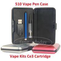 Vape Kits CE3 Cartridge O. Pen Battery 510 Vape Pen Case Bud ...