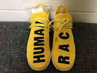 Human Race NMD Truth Boost laces Can Reflect light White Yel...