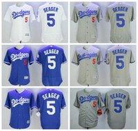 MLB Flexbase 5 Corey Seager Jersey Cool Base Los Angeles Dod...