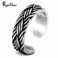 2017 New Vintage Silver Color Rings For Women Men Jewelry St...