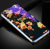 Pour iPhone 7 6 6s Plus Tpu Light Case Laser Glitter Light Back Cover Pour iPhone 5 5S Art Imprimé Case