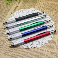 Tool Ballpoint Pen Screwdriver Ruler Spirit Level with a top...