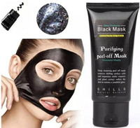 SHILLS Black Mask Blackhead Remover Deep Care Nettoyant Peel Off Black Mud Mask 50ml Purifiant Peel Acné Pore Masque facial DHL free ship