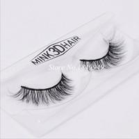 1 Box 1 Pair Packaging Mink False Eyelashes Natural Crisscro...