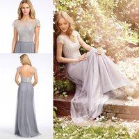 Elegant Jlmcouture Bridesmaids Dresses Sequined Aplique Juni...