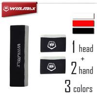 New Product WINMAX 1 Set Sport Sweatband (1 Headband + 2 Wri...