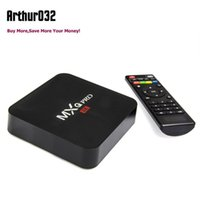 Caixa de TV Android 5.1 MXQ Pro Amlogic S905 Quad Core 4k HD 64bit Mini Smart PC 1G 8G Wifi 4K H.265 Totalmente carregado Google Smart Media Player