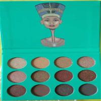 2017 Juvia'S Place Nubian Palette Ombre à Paupières 12 Ombres Belle Haute Pigment Matte Le Nubian (Vert) Kathleen Lights Livraison gratuite