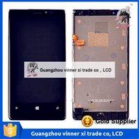La meilleure qualité Lumia 920 LCD pour Nokia Lumia 920 LCD Écran tactile numériseur avec monture cadre Bezel