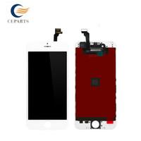 Grade A +++ Noir / Blanc Écran LCD Touch Digitizer Écran complet avec cadre Remplacement complet de l'Assemblée pour iPhone 6 iphone 6 plus DHL ship