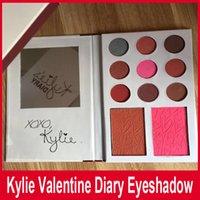 Дженнер дневник теней Kit палитра теней коллекция Kylie валентинки kyshadow Duos 11 цветов на День Святого Валентина подарок! 12шт