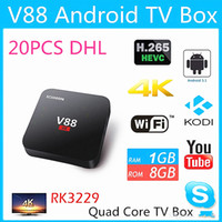 Smart Media Player Android 5. 1 OS Rockchip RK3229 Quad Core ...