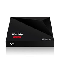 Original WeChip V6 Android 7. 1 TV BOX RK3328 Quad- Core 64bit...