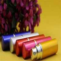 Hot Perfume Bottle 5ml Aluminium Anodized Compact Perfume Af...